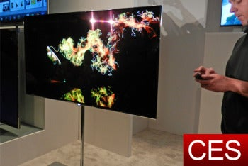 Eyes-On With LG's Stunning 55-Inch OLED 3D TV