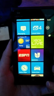 The Lumia 900 did not disappoint in this hands-on at CES.
