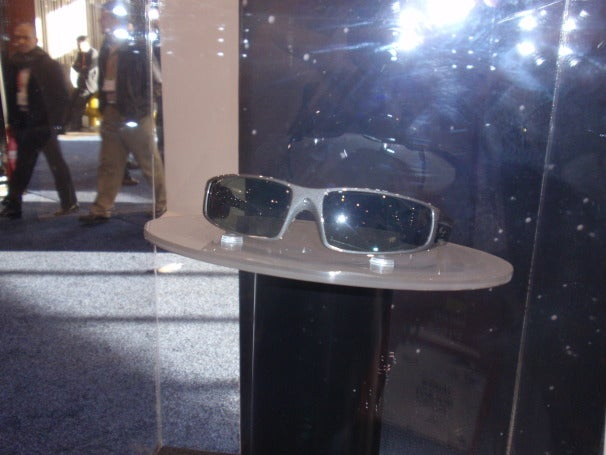 Fashionable Vuzix eye-wear with augmented reality