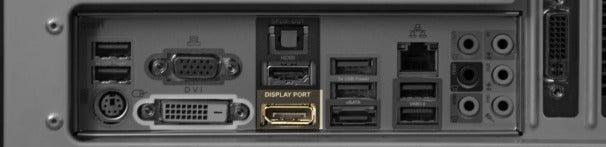 DisplayPort port.