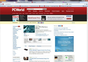 Firefox 10 screenshot