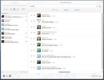 Freemake Music Box screenshot