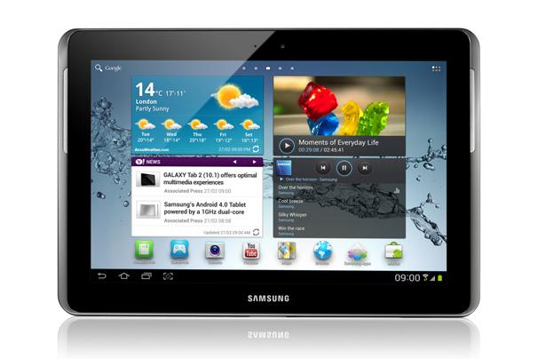 The Galaxy Tab 2 101 Samsung