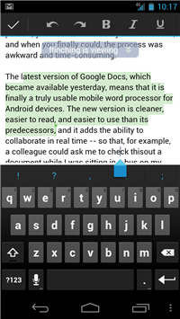 Google Docs for Android: Mobile Word Processing Gets Practical