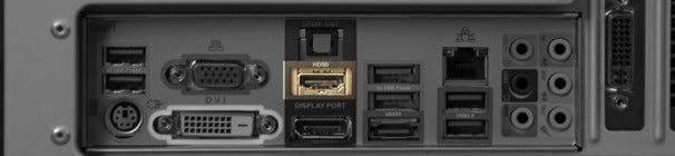 HDMI (High-Definition Multimedia Interface) port.