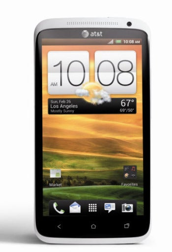 HTC One X quad-core smartphone