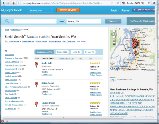 Beyond Yelp: Which User Review Services Matter?