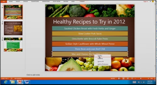 The PowerPoint preview gave the impression of an intuitive design.