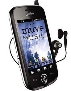 Cricket ZTE Chorus music phone