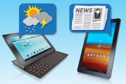 Android tablet apps: news and weather