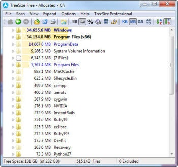 View Your Hard Disk\u0027s Hidden Hoards With TreeSize Free | PCWorld