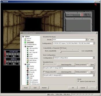 WinUAE screenshot