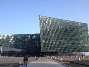 The Harpa Opera House. Quite a lovely venue.