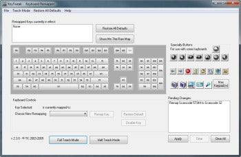 KeyTweak screenshot