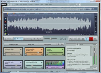 MAGIX Audio Cleaning Lab MX screenshot