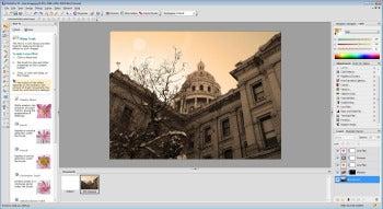 Serif PhotoPlus X5 screenshot