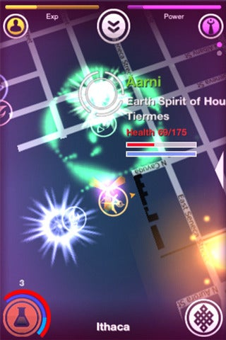 Shadows Cities (iOS) makes you a powerful mage, fighting to control your city.