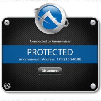 Anonymizer Universal screenshot