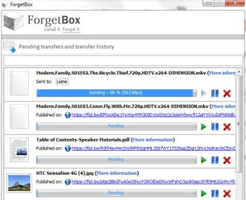 ForgetBox screenshot