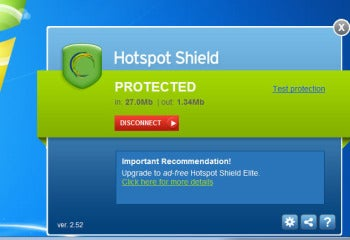 hotspot shield protects your privacy either free with ads