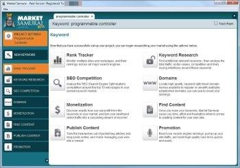 Market Samurai tool array screenshot
