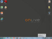 OnLive on iPad