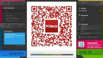 QR Hacker screenshot