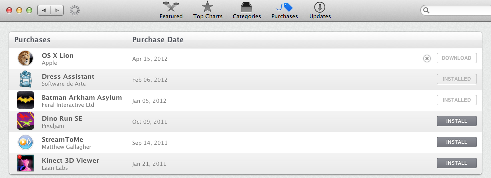 how to download os x lion for free