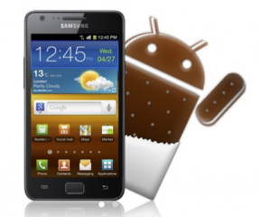 Samsung Releases Ice Cream Sandwich Upgrade List