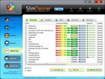 SlimCleaner 3.0 screenshot