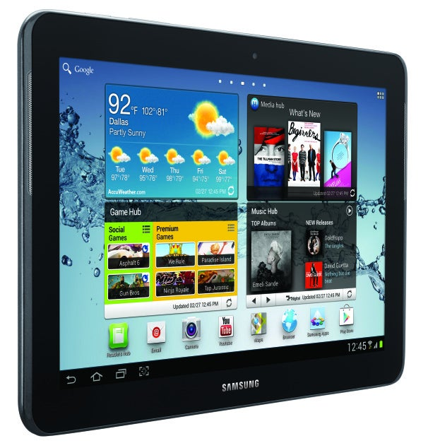 Samsung announces lower cost android 4 0 tablets pcworld for Samsung j tablet price