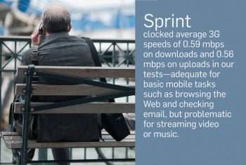 Wireless 3G and 4G service testing: Sprint