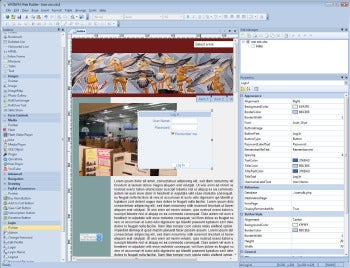 WYSIWIG Web Builder 8 screenshot