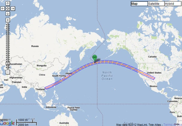 Nasa Interactive Solar Eclipse Map.Nasa Google Map Shows Path Of Solar Eclipse Pcworld
