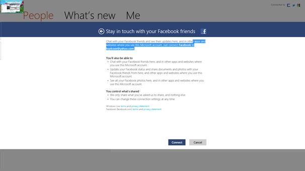 Windows 8: Contacts app