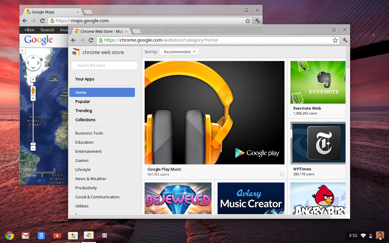 Chrome OS Update Adds Traditional Desktop Feel | PCWorld