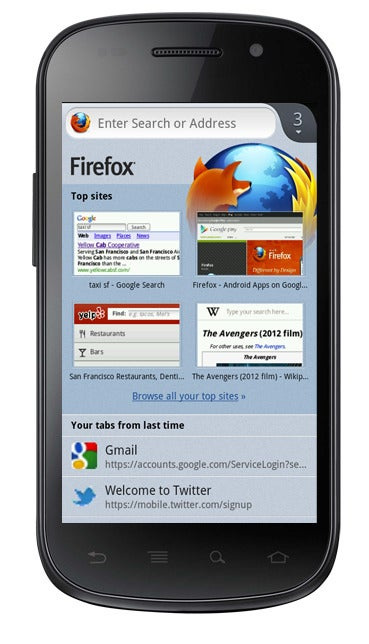 Mozilla Releases Firefox for Android Beta