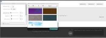 Breezi palette screenshot