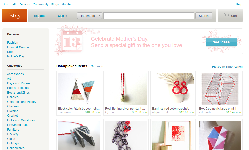 websites to sell handmade items the 5 best marketplaces for selling handmade goods 3894