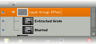 GIMP Layer Groups