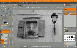 GIMP Single Window Mode