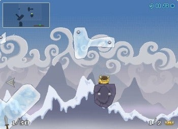 Icebreaker hammer-flinging screenshot