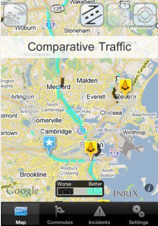 Inrix Traffic for iOS