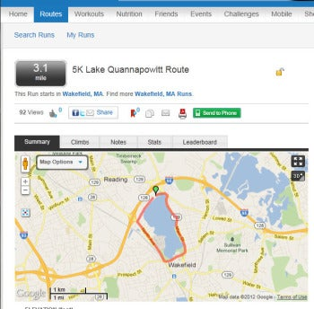 track your running route with mapmyrun pcworld