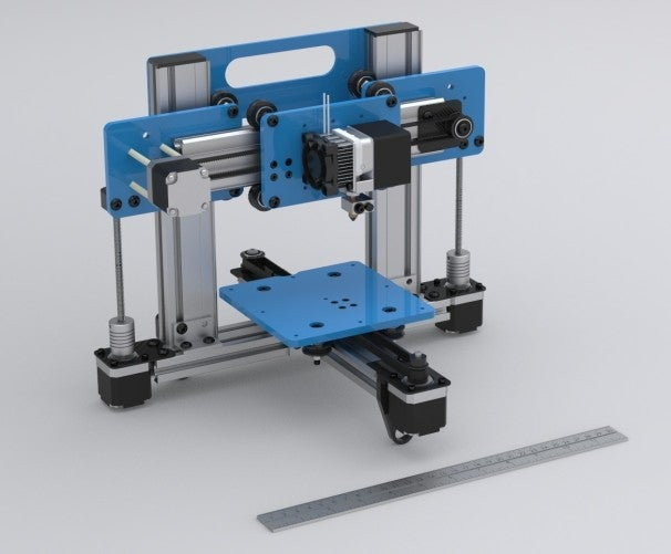 Cheap 3d printer pops out parts with blazingly fast speed 3d printer plan