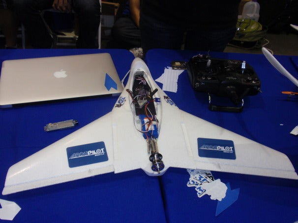UAV made by 3D Robotics utilizing APM2