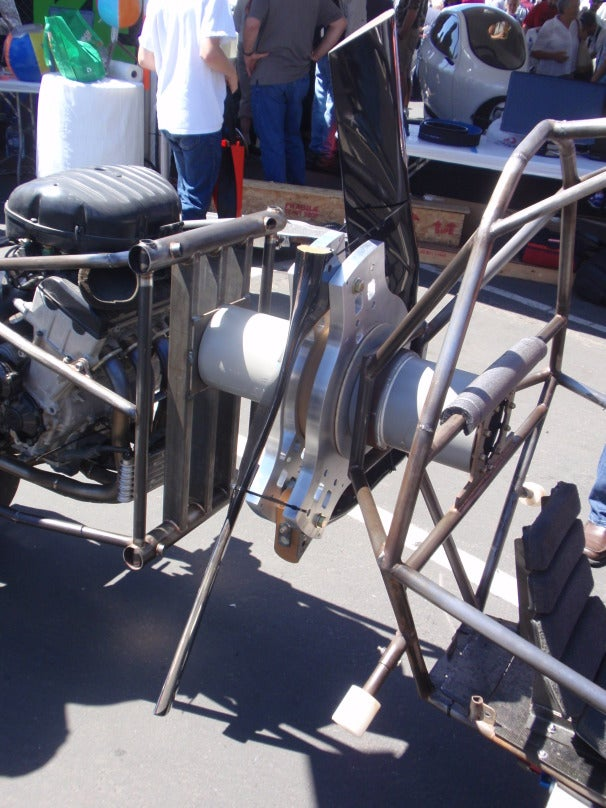 Molnari's latest patented propeller system