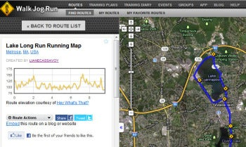 WalkJogRun map screenshot