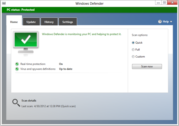 Windows 8 Security: What's New