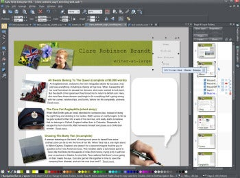 Xara Web Designer MX 8 screenshot